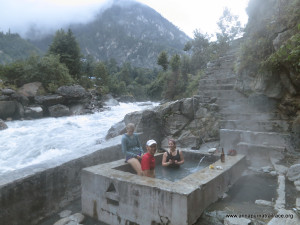Hot Springs and beer near Chamje Village