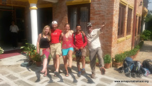 All done! Back in Kathmandu with smiles. Thanks everyone.
