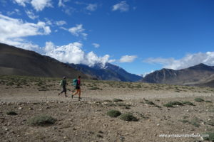 Most trekkers miss these trails and opt for walking on the jeep track from Muktinath to Kagbeni - not us!